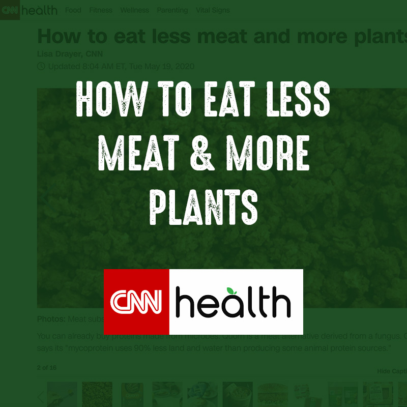 How to Eat Less Meat and More Plants - CNN Health