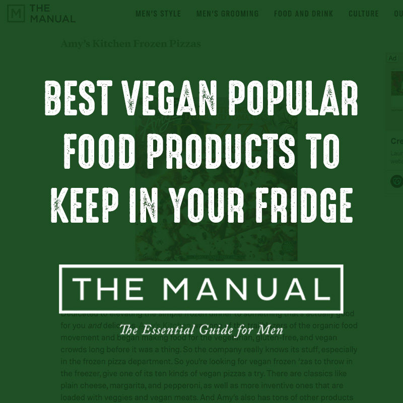 Best Vegan Popular Food Products to Keep in your Fridge - the Manual