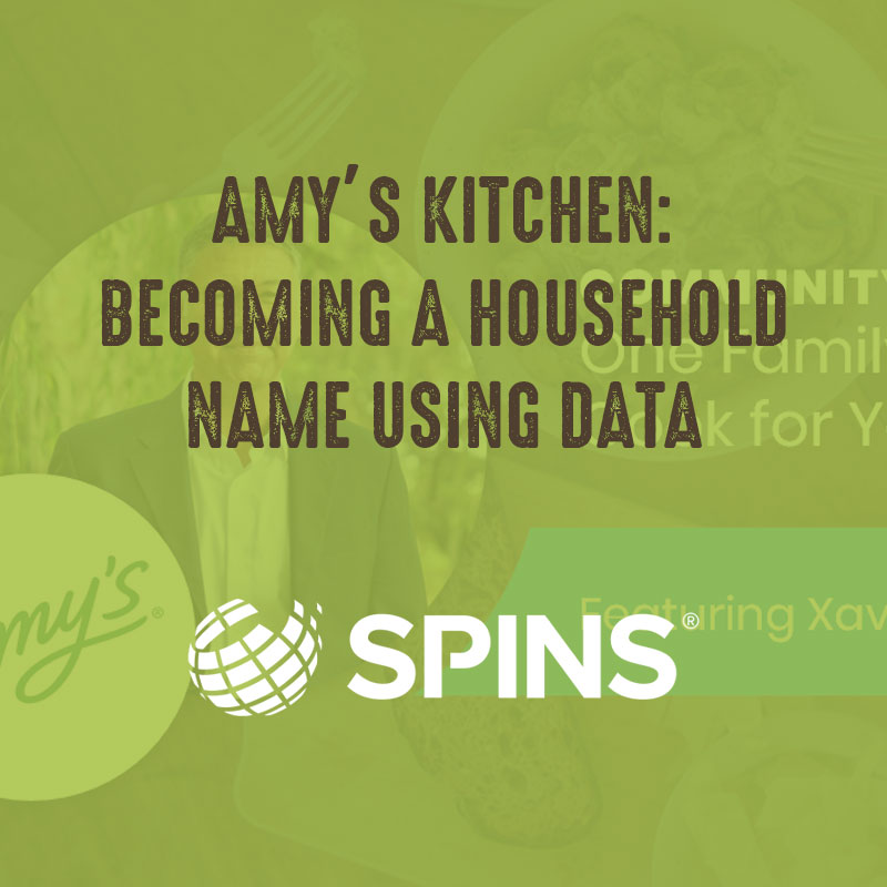 Amy's Kitchen: Becoming a Household Name Using Data - Spins