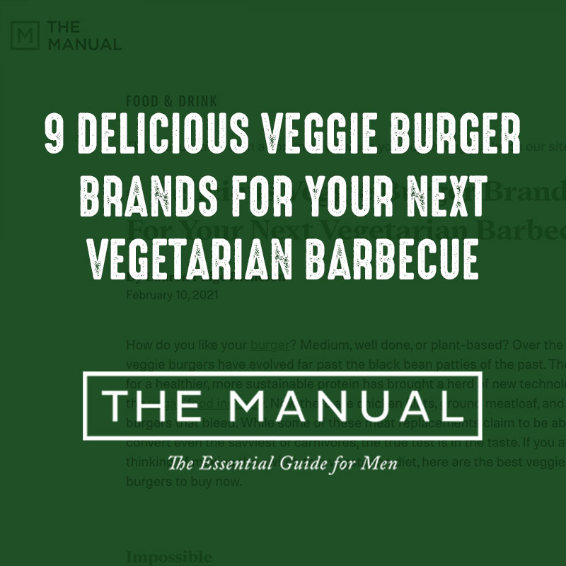 9 Delicious Veggie Burger Brands For Your Next Vegetarian Barbecue